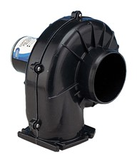 "Continuous duty 100mm (4"") blower, flangemount 12 volt dc"